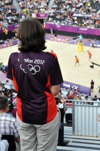 London 2012 volunteer