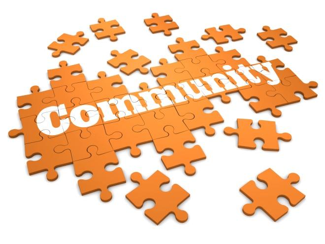 3d Community puzzle