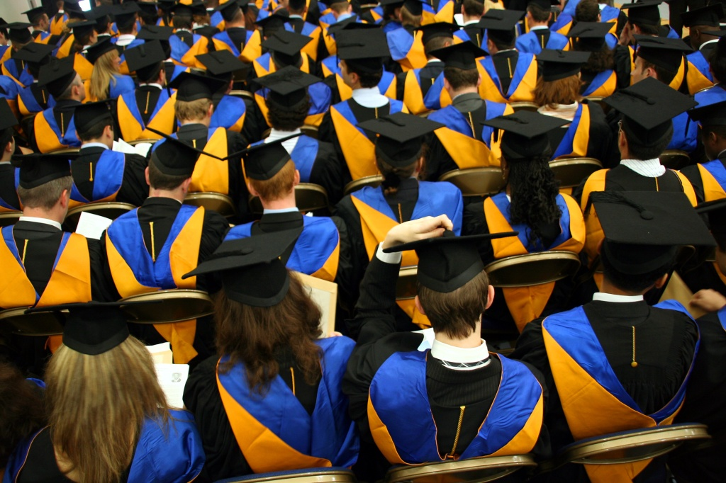 college graduates group