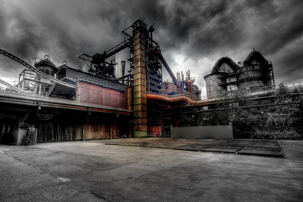 Image of old industrial plant.