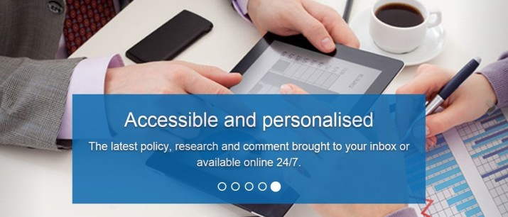 Personalised info