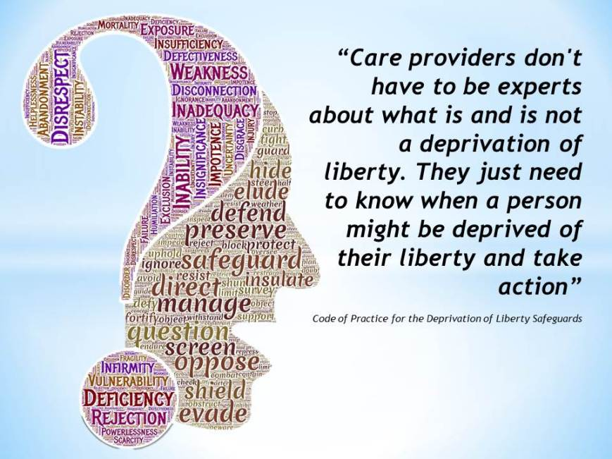 deprivation of liberty