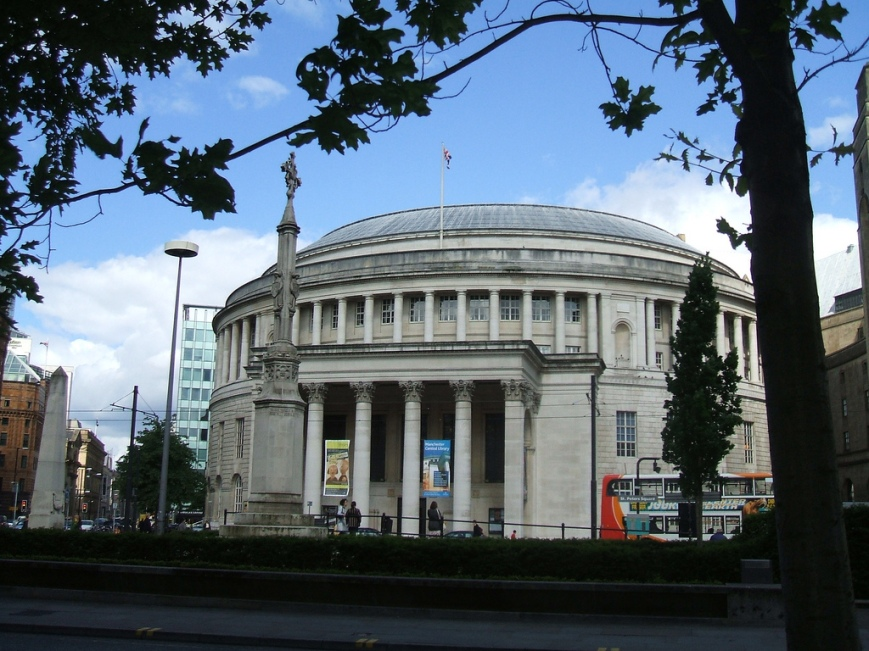 Manchester Central Library. (Photograph: James Carson)