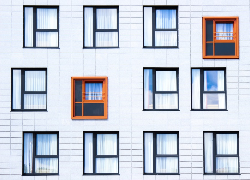 abstract windows in flats (Unsplash)