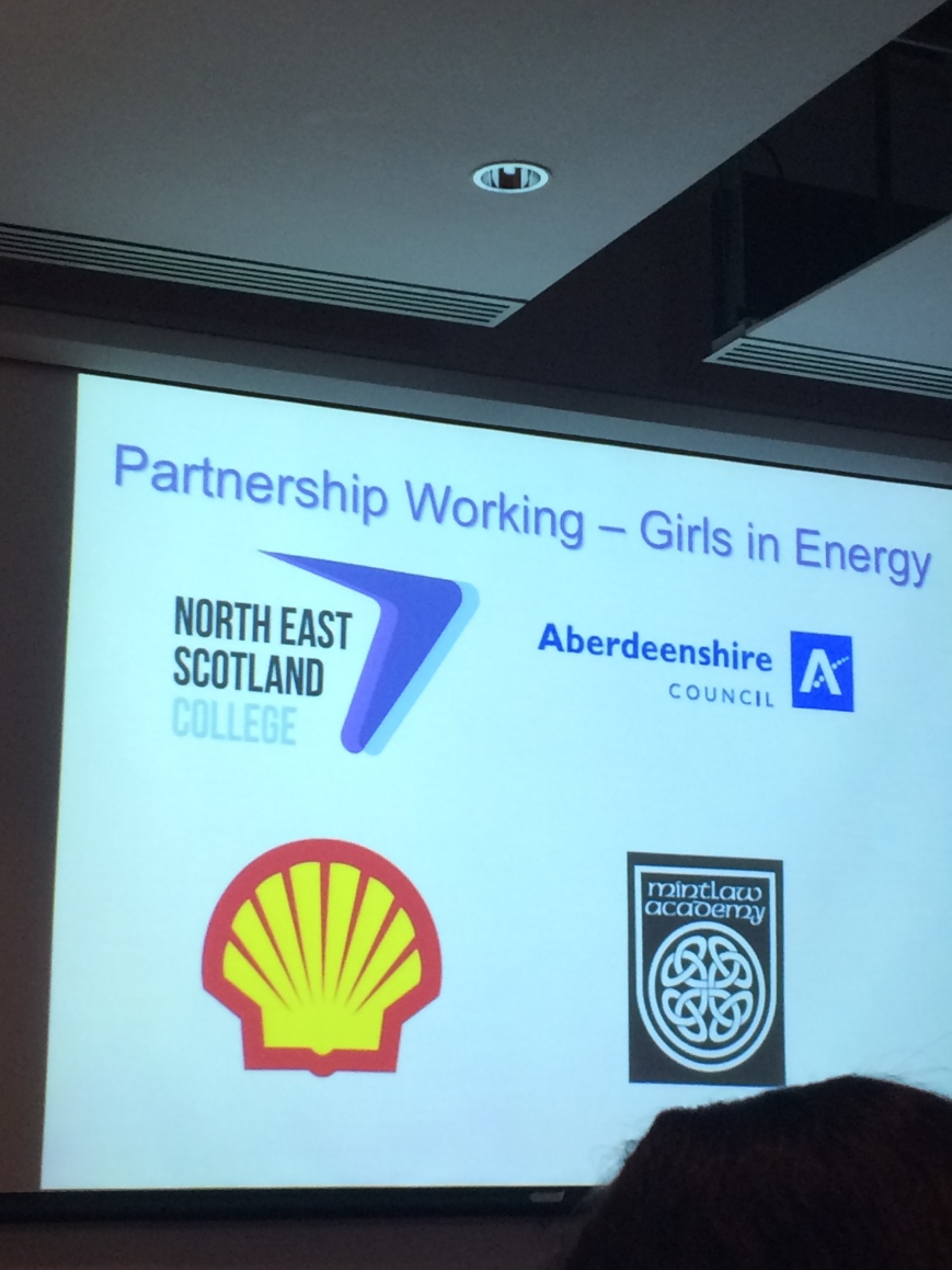 Girls in Energy programme. Rebecca Jackson, 2015