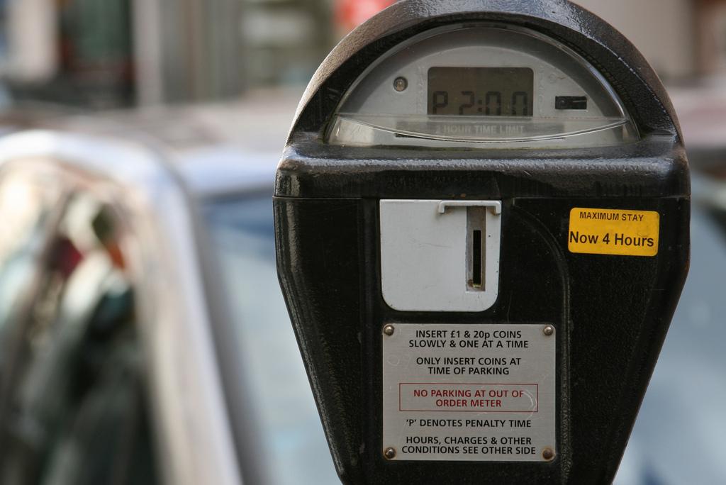 parking meter london