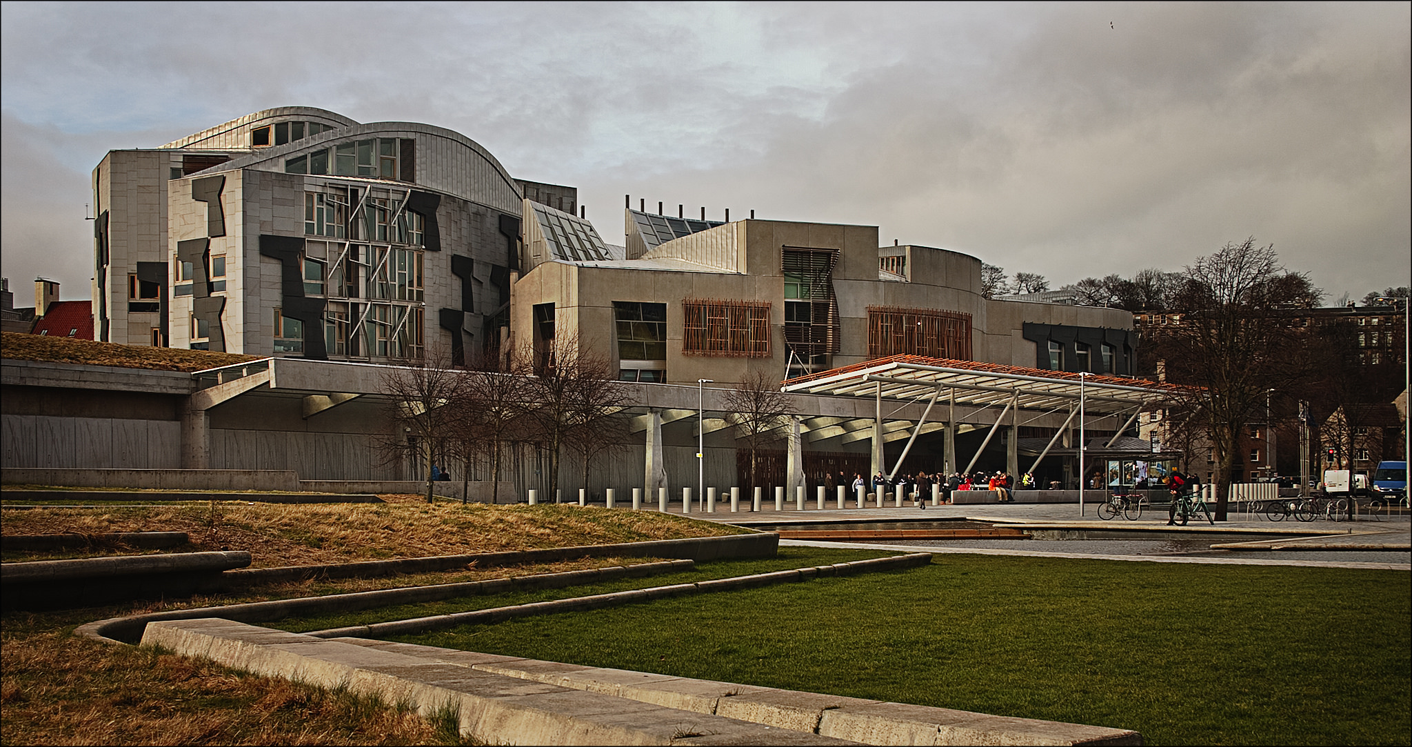 THe Scottish Parliament, Holyrood, Edinburgh