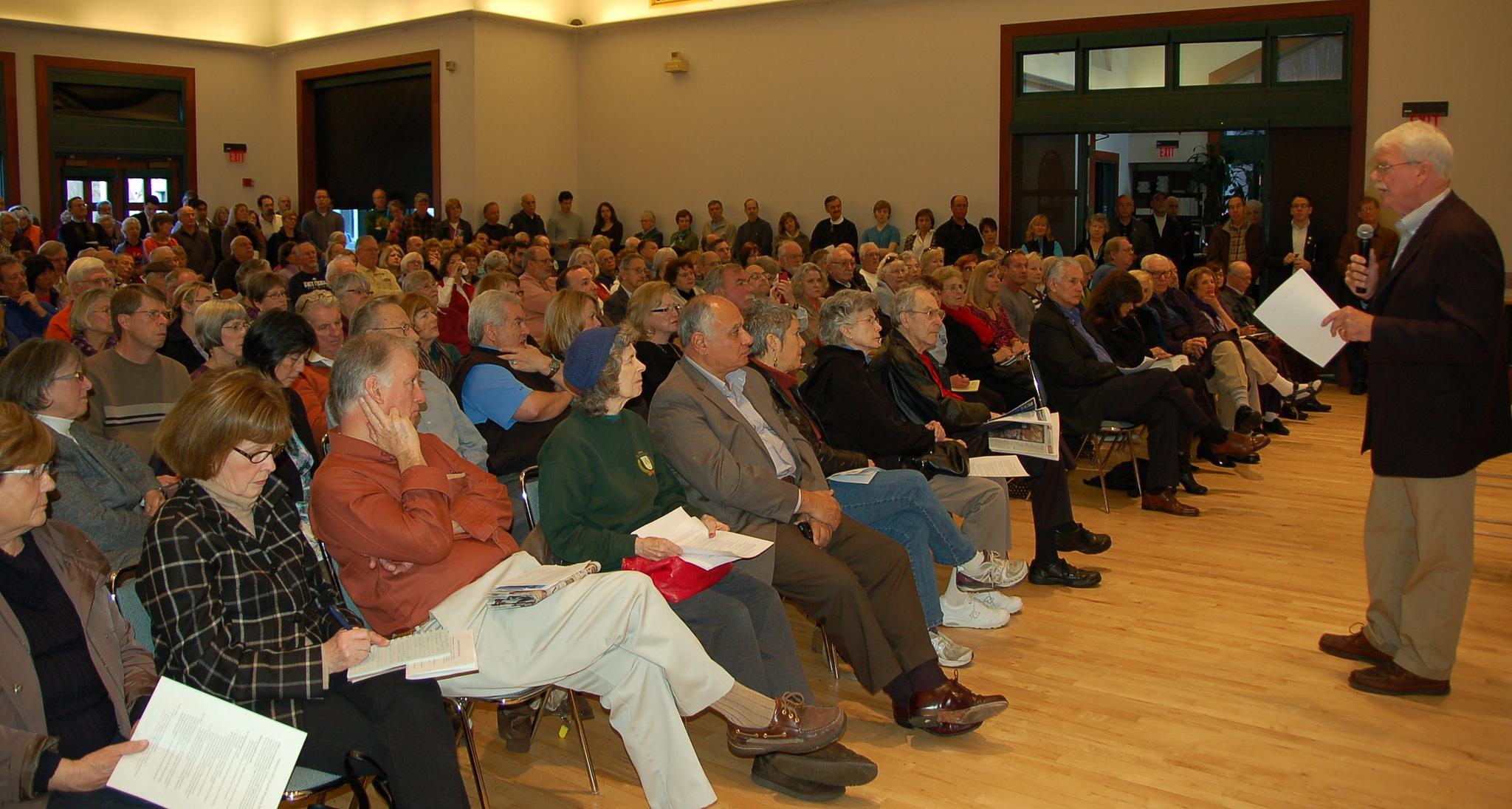 Danville Town Hall Meeting, CA