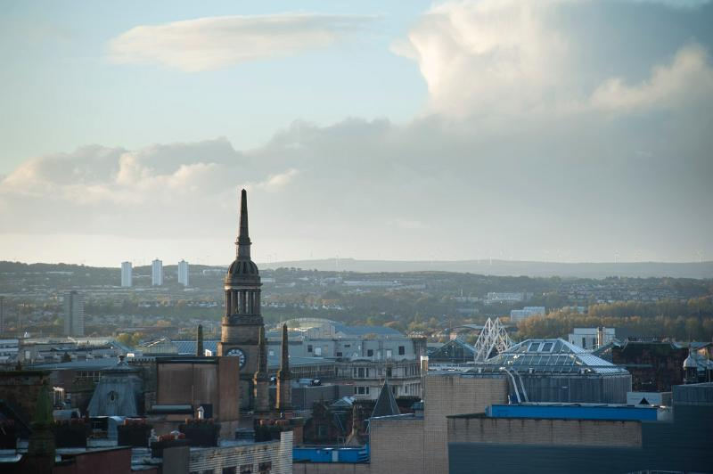 Glasgow skyline