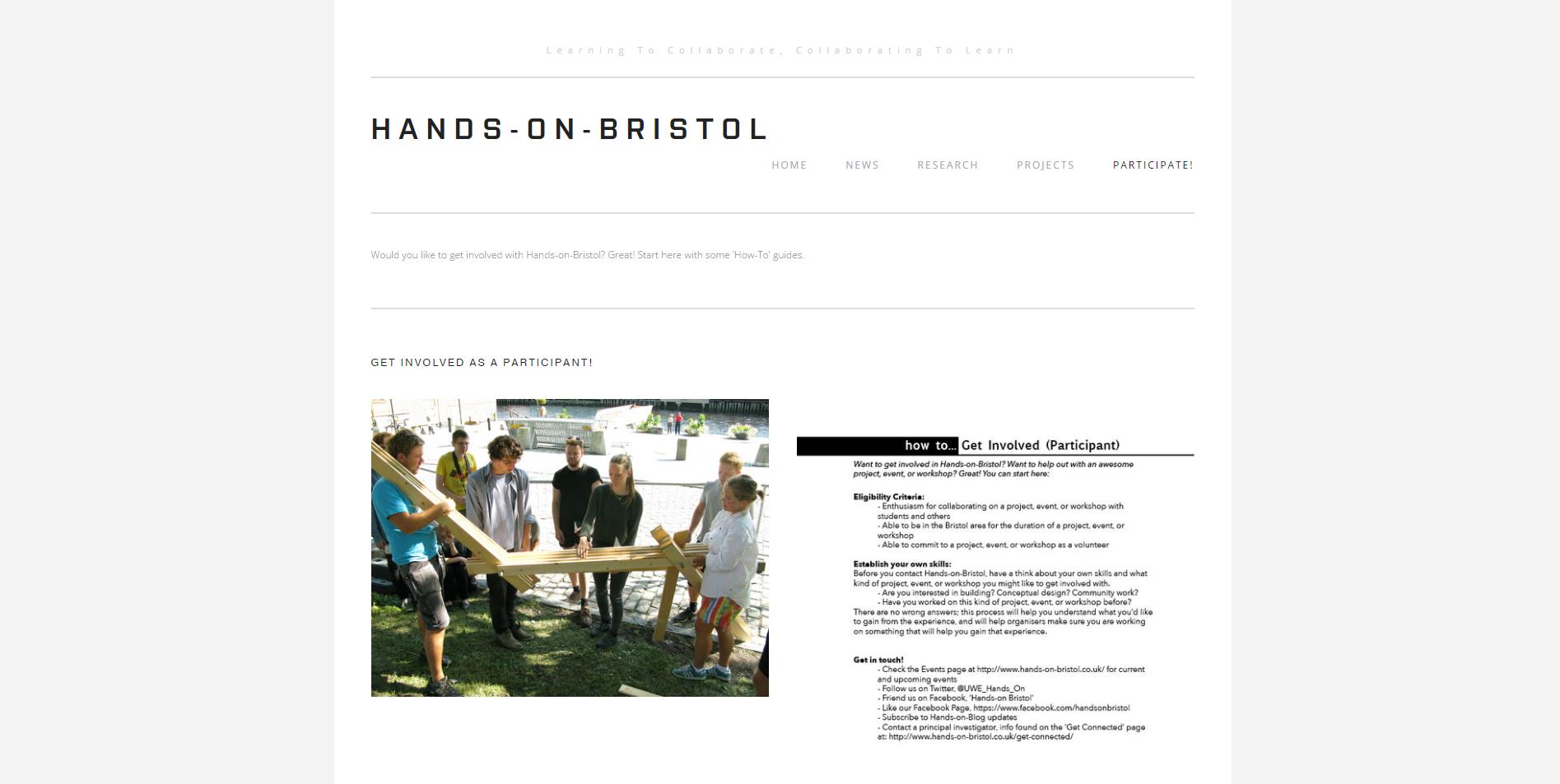 hands on Bristol