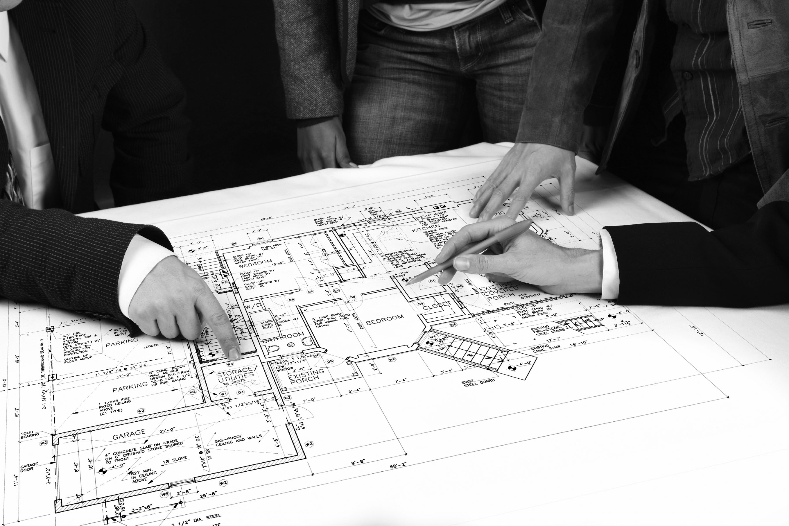 Looking at house plans iStock_000002390840Large