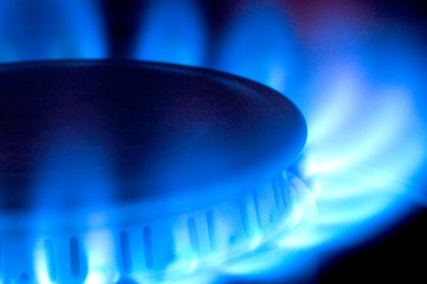 nastural gas flame