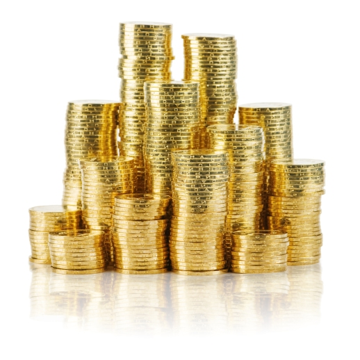 stacked pounds shutterstock_66808108